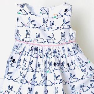 Sweet bunny dress.